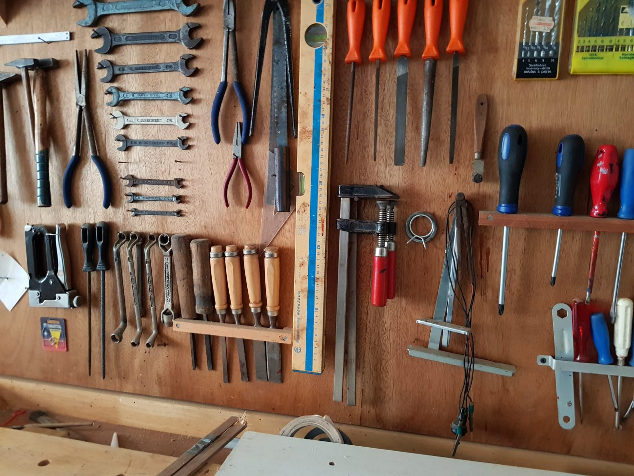 Heatons Men In Sheds - Stockport - Tool boards