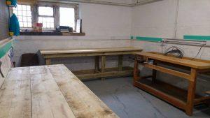 Heatons Men In Sheds woodwork wood workshop